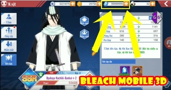 Cheat BLEACH Mobile 3D v19.1.0 Mod apk [Unlimited Money] [No Skill Delay] 8