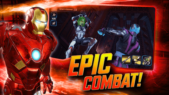 Download MARVEL Strike Force (MOD, Unlimited Energy / Mega) 3.10.0 free on Android 2