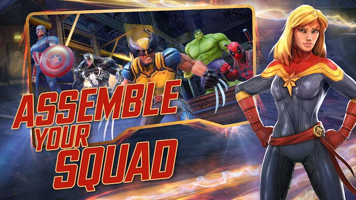 Download MARVEL Strike Force (MOD, Unlimited Energy / Mega) 3.10.0 free on Android 1