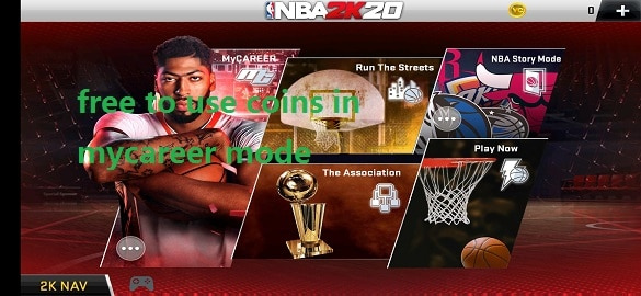 Download NBA 2K20 Mod Apk 96.0.1 free on mobile android 2