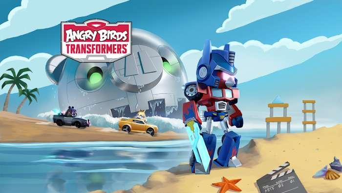 ดาวน์โหลด Angry Birds Transformers (MOD, Coins / Gems) ฟรีบน Android