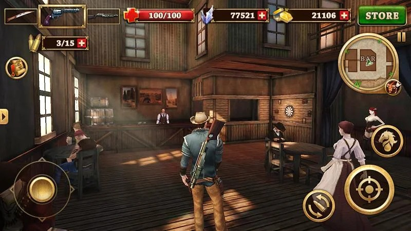 Download West Gunfighter (MOD, Unlimited Money) free on Android 4