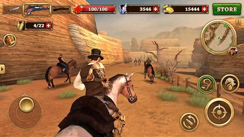 Download West Gunfighter (MOD, Unlimited Money) free on Android 5