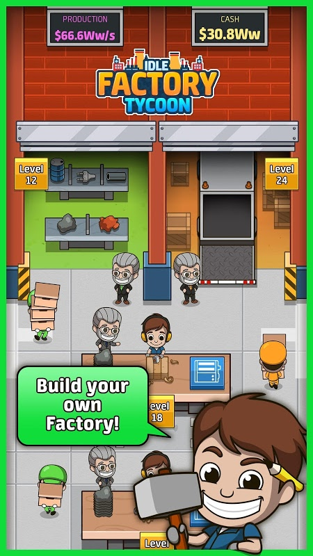 Download Idle Factory Tycoon (MOD, Unlimited Coins) free on Android 3
