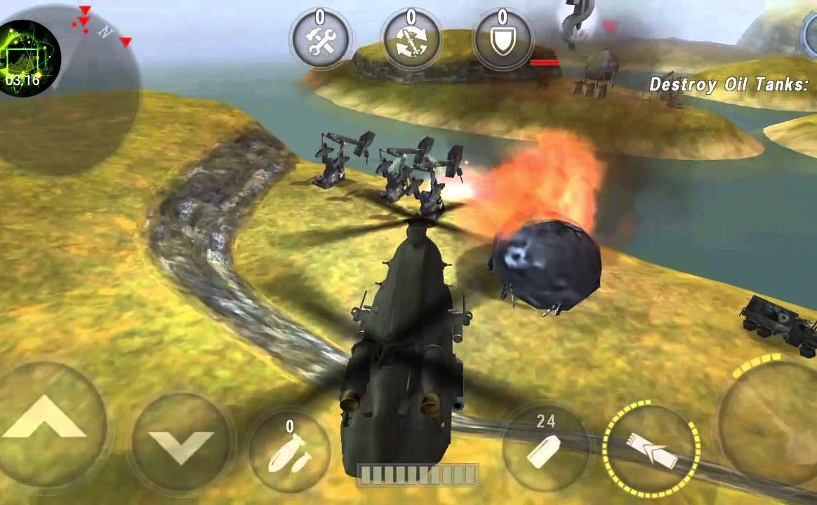 Download GUNSHIP BATTLE: Helicopter 3D 2.7.79 Apk + Mod for Android 1