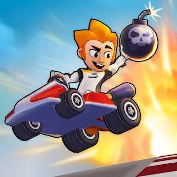 Boom Karts – Multiplayer Kart Racing App Free icon