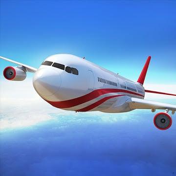 Flight Pilot Simulator 3D App Free icon